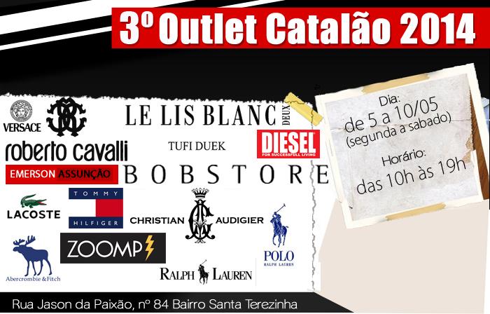 8358b105b Nesta semana o estilista Emerson Assunção realiza o 3º Outlet de marcas  famosas e criações próprias. O Outlet acontece do dia 5 ao dia 10 de maio