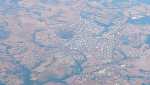 Vista aérea Catalão - Pasto do Pedrinho