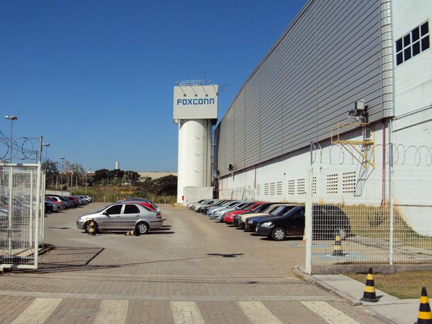 Fábrica da Foxconn em Jundiaí, no interior de São Paulo (Foto: Divulgação)